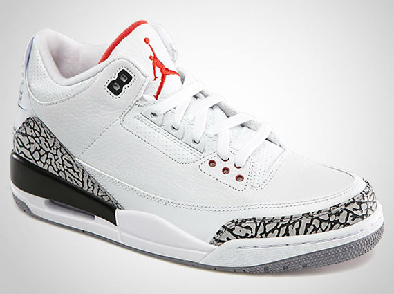 air jordan iii 39 88 retro restock release info. Black Bedroom Furniture Sets. Home Design Ideas