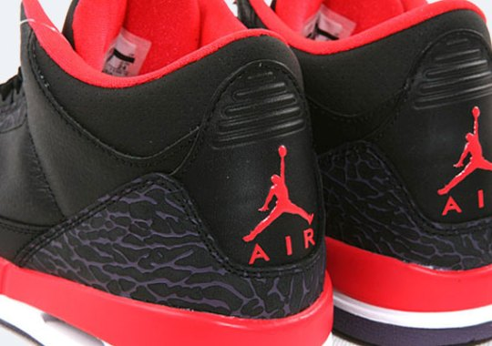 "Air Jordan III GS ""Bright Crimson"""
