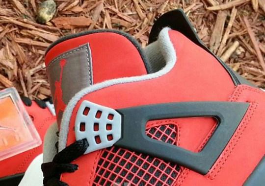 Air Jordan IV Retro – Fire Red – White – Black – Cement Grey