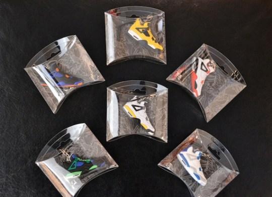 Air Jordan and Air Yeezy 2 Sneaker Keychains