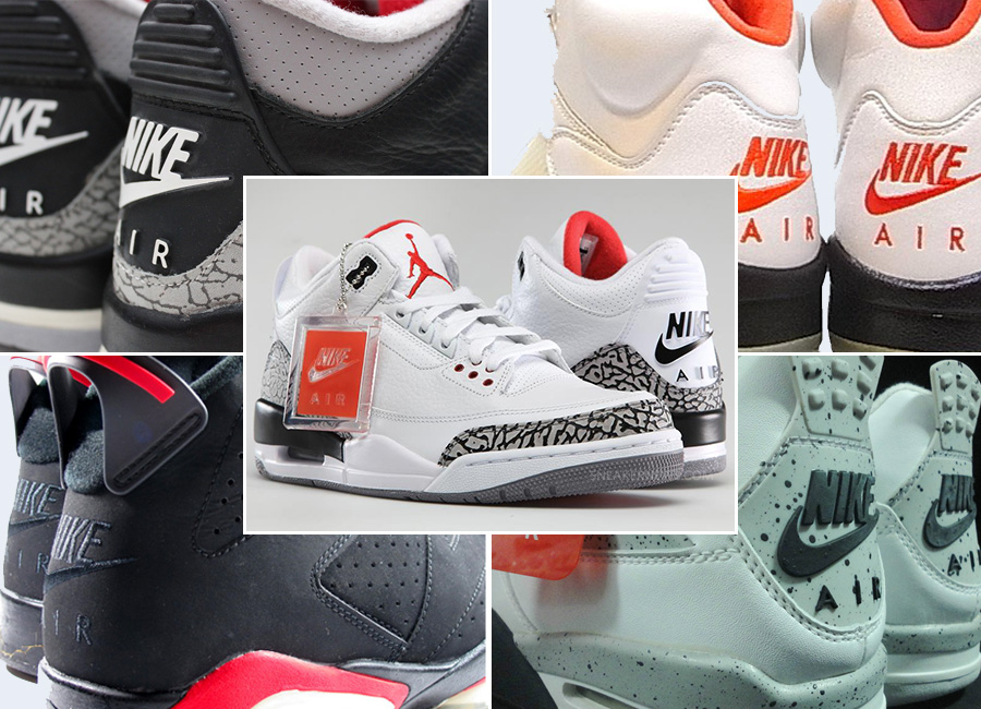 "new style 3008e 22348 History of Air Jordan Retros with ""Nike Air"" Branding"