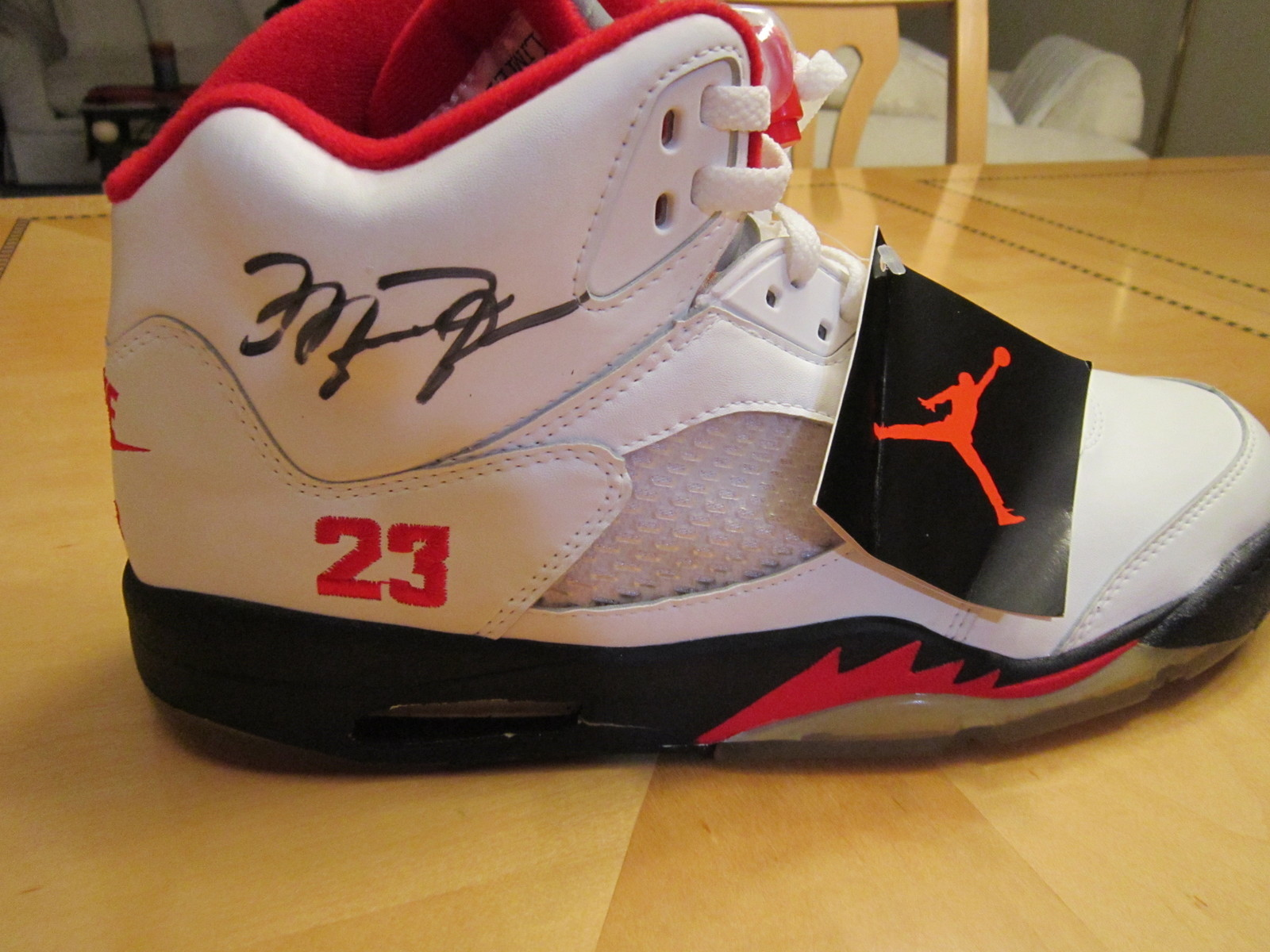Air Jordan V Quot Limited Issue Quot 1 Of 100 Og Autographed