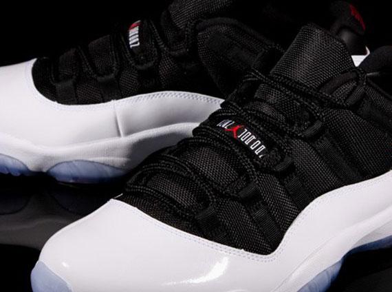 Air Jordan 11 Low Retro - White - Black - Red - SneakerNews.com 3760d27388