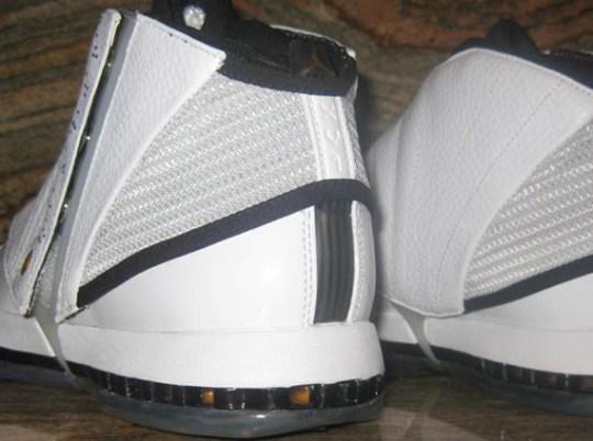 Air Jordan XVI Retro – White – University Gold – Black – Stealth | Unreleased 2012 Sample