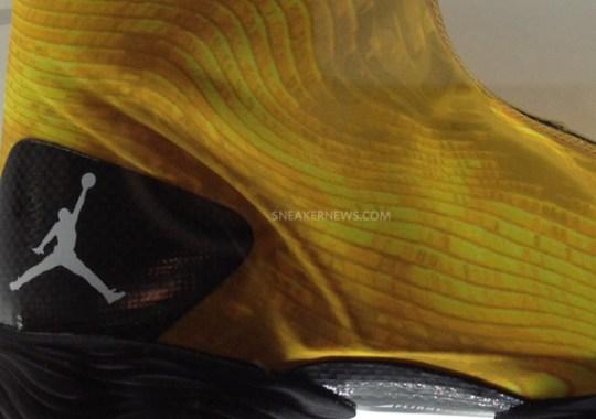 "Air Jordan XX8 ""Yellow Camo"""