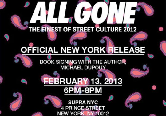 ALL GONE 2012 – Book Release Event