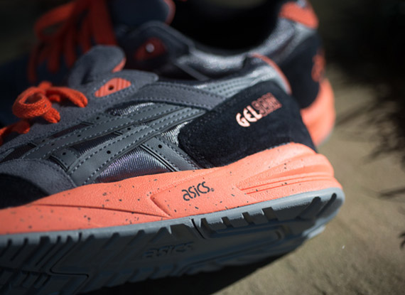 Asics Gel Saga - Grey - Orange