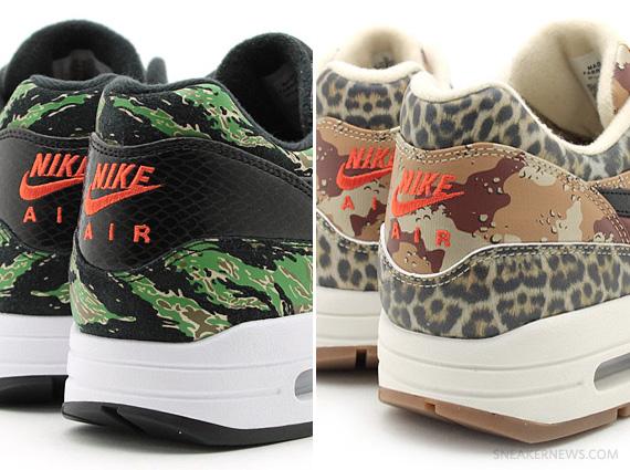 "sale retailer 54304 a92d2 atmos x Nike Air Max 1 ""Animal Camo"" Pack"