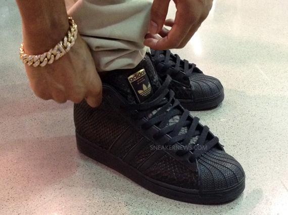"""new style 4e6fa bcc0e Big Sean x adidas Pro Model """"Black"""" Sample"""