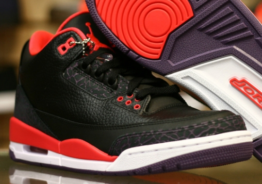 "Air Jordan III ""Bright Crimson"" – Release Reminder"