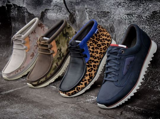 Clarks Tawyer & Theron Nature @ Packer Shoes
