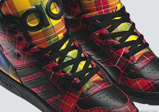 """watch 0ff1f c3bce Jeremy Scott x adidas Originals JS Instinct Hi """"Tartan"""""""