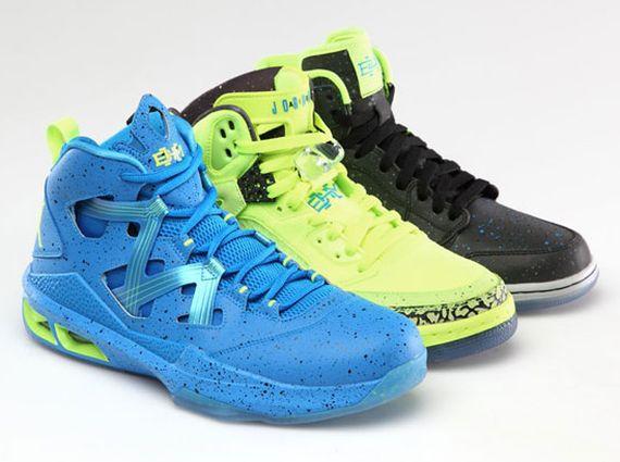 Air Jordan 1 + Melo M9 + Jordan Spiz