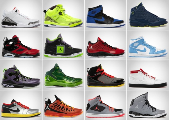 Jordan Brand February 2013 Footwear Releases