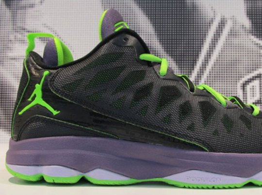 Jordan CP3.VI – Black – Electric Green – Canyon Purple