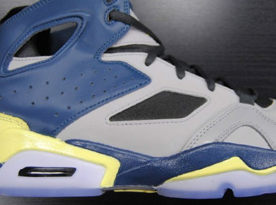 Jordan Flight Club '91 – Matte Silver – Electric Yellow – Squadron Blue