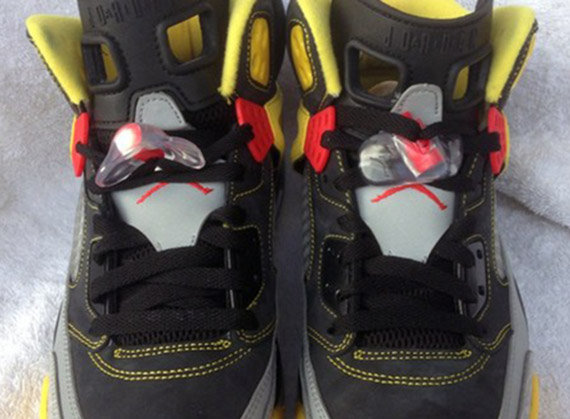 61e71b06b40 Jordan Spizike - Black - Challenge Red - Metallic Silver - T . NEW NIKE AIR  ...