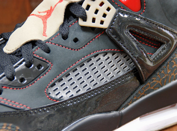 Jordan Spiz ike - Black - Challenge Red - Light British Tan - Khaki ... 0970ee7240