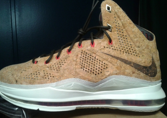 "finest selection 295ed c9905 Nike LeBron X ""Cork"" – Release Reminder"