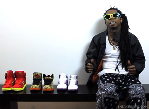 lil wayne x supra �vice pack� video sneakernewscom