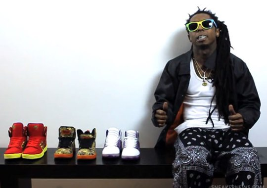 "Lil Wayne x Supra ""Vice Pack"" – Video"