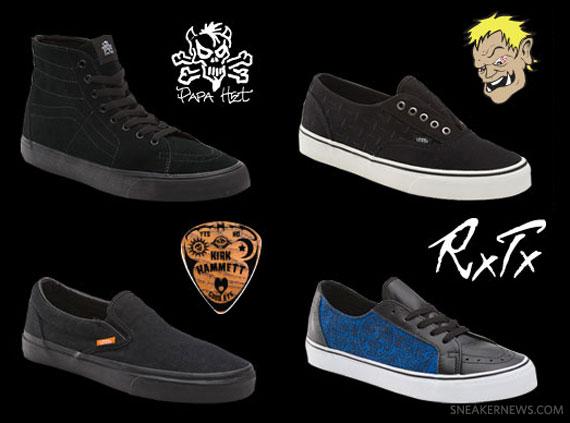 54b9ca32b5 Metallica x Vans Signature Collection - SneakerNews.com