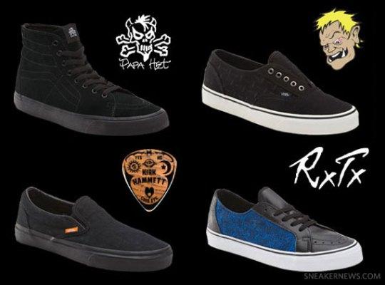 Metallica x Vans Signature Collection