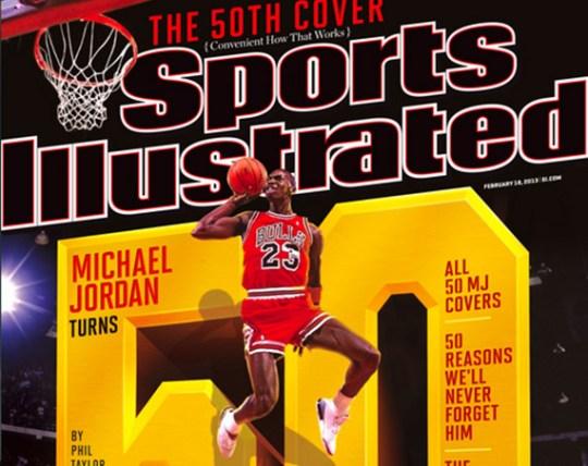Michael Jordan's 50th Sports Illustrated Cover