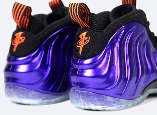 Nike Air Foamposite One – Electro Purple – Total Orange