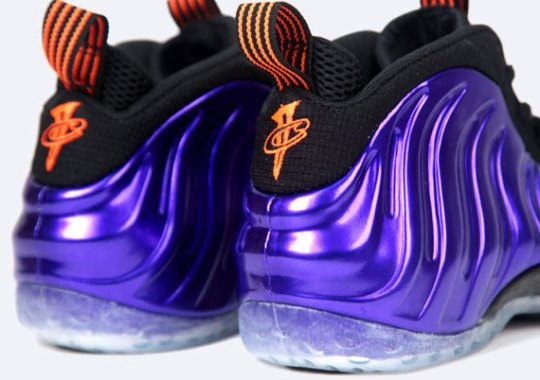 Nike Air Foamposite One – Electro Purple – Total Orange