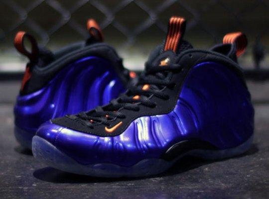 "Nike Air Foamposite One ""Suns"" – Electro Purple – Total Orange"