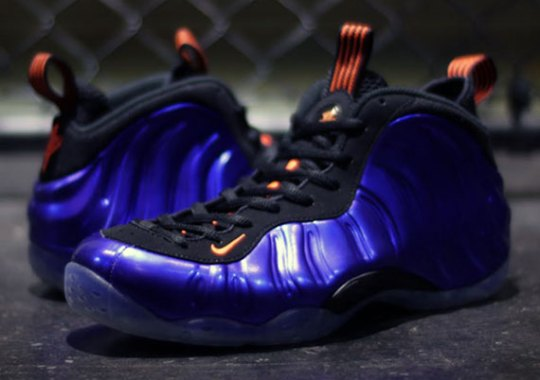 "Nike Air Foamposite One ""Suns"" – Electro Purple – Total Orange"