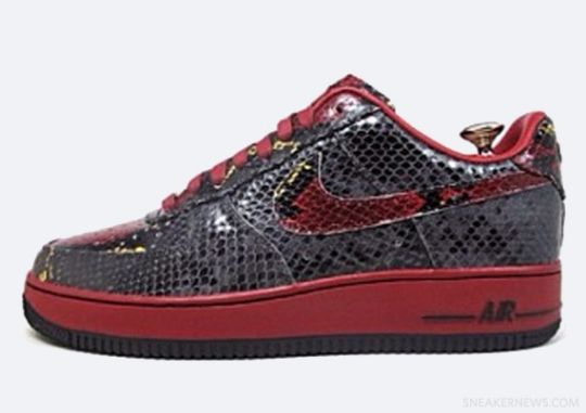 """Nike Air Force 1 Bespoke """"Year of the Snake"""" Options"""
