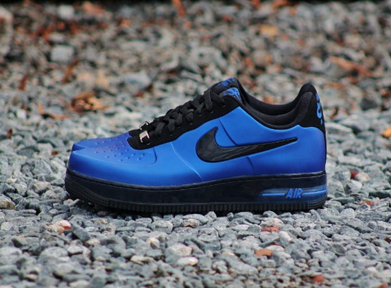 """free shipping d4283 ac1a9 Nike Air Force 1 Foamposite Pro Low """"Royal"""" – Available"""