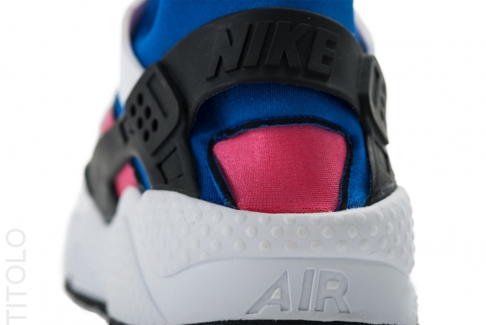 new arrival 5de97 da79d chic Nike Air Huarache OG White Game Royal Dynamic Pink