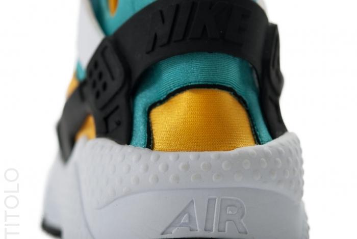 2dd77b5ae8b Nike Air Huarache OG White Sport Turquoise-University Gold 318429-137.  Advertisement. show comments