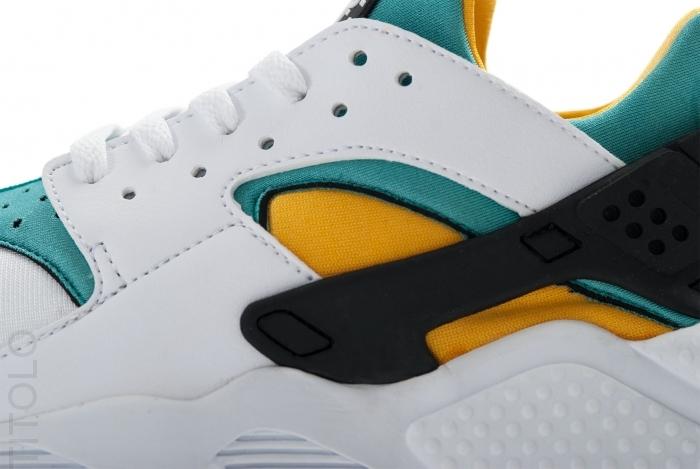 6c551decd1b Nike Air Huarache OG White Sport Turquoise-University Gold 318429-137.  Advertisement