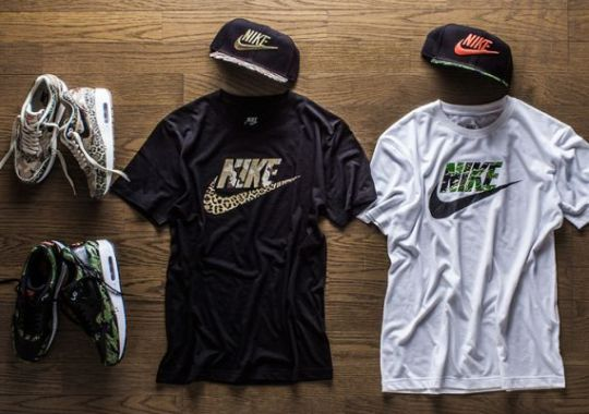 """atmos x Nike Air Max 1 PRM """"Animal Camo Pack"""" – Release Date"""
