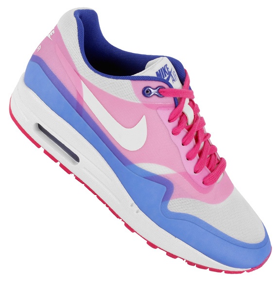 sports shoes fe7c0 d3914 good Nike WMNS Air Max 1 Hyperfuse Premium Pink Force Hyper Blue