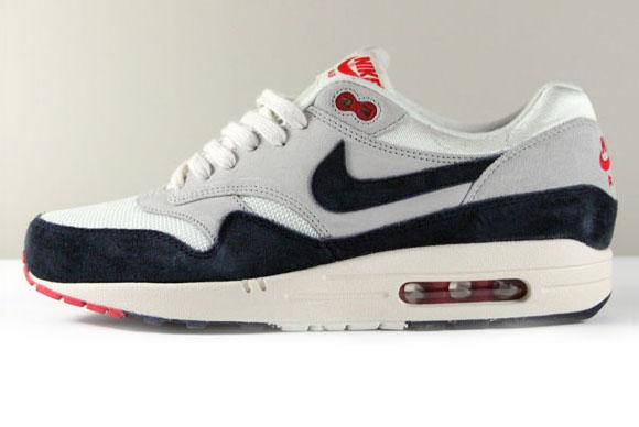 Nike Air Max 1 Og White Navy Red Sneakernews Com