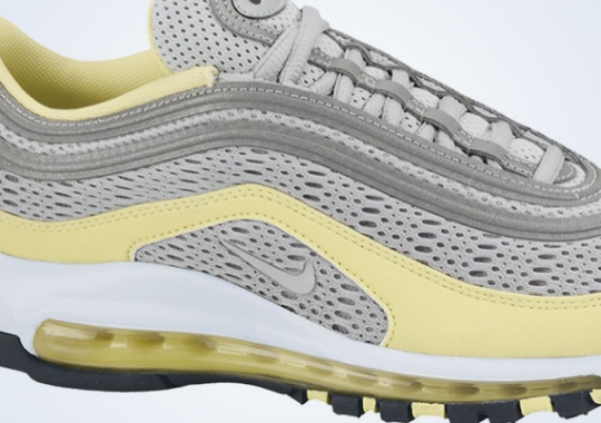 Nike WMNS Air Max 97 Premium – Metallic Silver – Electric Yellow