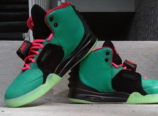 "Nike Air Yeezy 2 ""South Beach"" Customs by PK Studios"