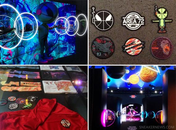innovative design d33f6 3a0da Nike Area 72  Ball Beyond Limits  2013 All-Star Experience - SneakerNews.com