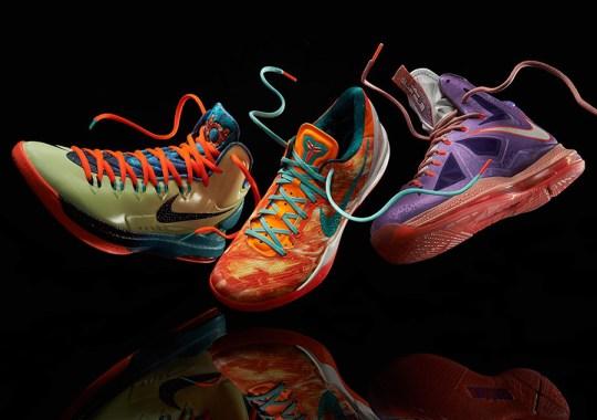 """Nike Basketball """"Area 72"""" Collection"""