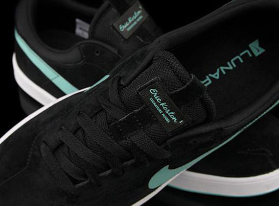 Nike Eric Koston 1 Black Crystal Mint