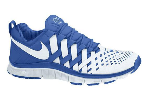 online retailer d33dd 17fc6 blue nike free trainer 5.0