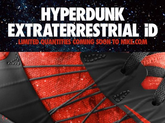 "Nike Hyperdunk 2012 iD ""Extraterrestrial"""