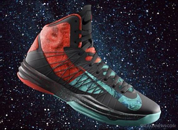 "buy online bb414 322c1 Nike Hyperdunk 2012 iD ""Extraterrestrial"" – East vs. West"