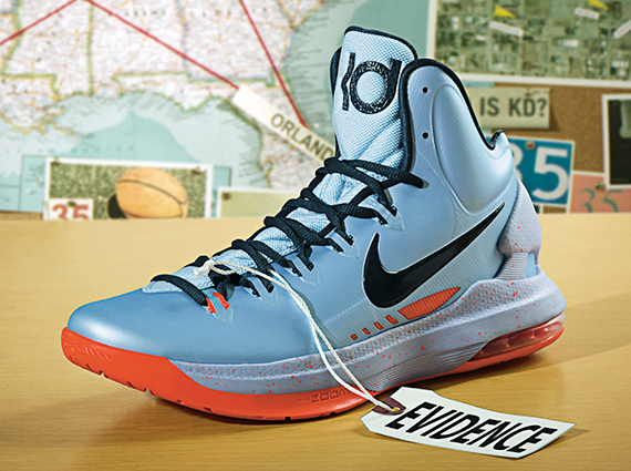 """online store 176a6 e7973 Nike KD V """"Ice Blue"""" – Release Reminder"""