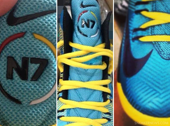 cheap for discount 2a2b1 4f440 It looks like Kevin Durant s latest signature sneaker will carry on the  tradition of giving back to the Native American community via the Nike KD V   N7 .